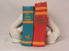 Vintage Disney Mickey Mouse bookends gloves RARE. condition **EXCELLENT**