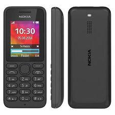 NOKIA 130 SIM FREE UNLOCKED BASIC UK MOBILE PHONE TELEPHONE - BLACK - A00023261