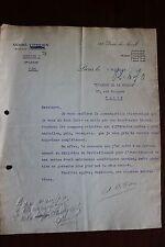 ✒ L.S. André CITROEN industriel - rare lettre signée du 9 mai 1918