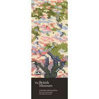 DMC British Museum Cherry Blossom Counted Cross Stitch Bookmark Kit