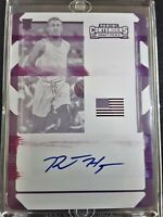 1/1 RJ HAMPTON 2020-21 Contenders AUTO Printing Plate ROOKIE ONE OF ONE RC SP