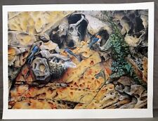 'PARADISE CAVE' by Greg Postle. Limited Edition Print