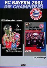 FC Bayern München - Die Champions 2001 | DVD | Zustand gut