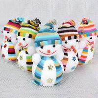 Christmas Xmas Tree Ornaments Snowman Hanging Decoration Party Holiday Decor New