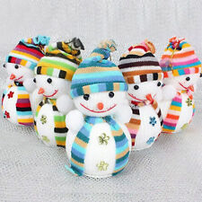 Christmas Xmas Tree Ornaments Snowman Hanging Decoration Party Holiday Decor New