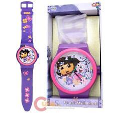 "Dora The Explorer Dora with Boots Wall Clock -36"" Wrist Watch Shape"