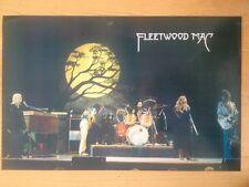 FLEETWOOD MAC POSTER Vintage  23 X 35 1970's original LIVE  Stevie Nicks McVie