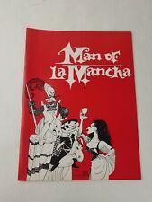 "Vintage ""Man Of La Mancha"" 1972 Musical Souvenir Program"
