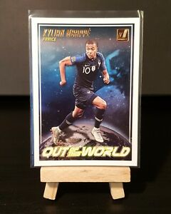 2018/2019 Panini Donruss - Kylian Mbappe Out Of This World Insert - France #OW9