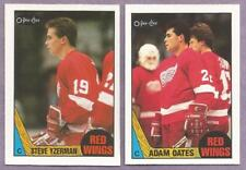 1987-88 OPC O-PEE-CHEE Detroit Red Wings  Team Set