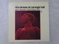 Nina Simone At Carnegie Hall PYE UPS-2036-Y Japan  VINYL LP