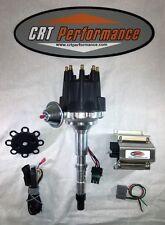AMC V8 SMALL CAP HEI DISTRIBUTOR BLACK + 50K COIL 290 304 343 360 390 401 JEEP