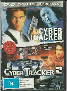 CYBER TRACKER 1 + 2  DVD - Double - Don Wilson 90's Action Movie