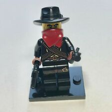 """LEGO 8827 Minifigure Series 6 """"Bandit"""" Complete, Cleaned, Adult-Owned"""