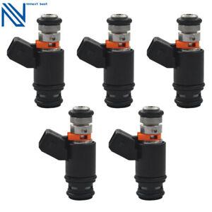 5x Fuel Injectors For Volkwagen VW Transporter T4 2.5 Bora 2.3 V5 5 cylinder 1J