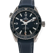 Omega Seamaster Planet Ocean 600m GMT Blue Dial Mens Watch 232.92.44.22.03.001