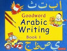 GOODWORD ARABIC WRITING BOOK - 1 WRITE & LEARN MUSLIM CHILDREN BEST GIFT IDEAS