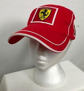 Puma Scuderia Ferrari Mens Formula One F1 Racing Strapback Cap Hat