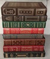 8 The Franklin Library Books lot/set John's Brown Body;Journey in the Dark &more