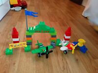 Great Lego Duplo Disney Planes 10510 Ripslingers Air Race Set 100% COMPLETE