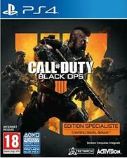 CALL OF DUTY BLACK OPS 4  Edition Specialiste JEU PS4 NEUF FRANCAIS OFFICIEL