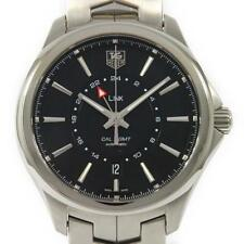 Authentic Tag Heuer WAT201A. BA0951 Link GMT Calibre 7 Automatic  #260-001-89...