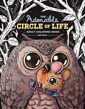 ADORABLE CIRCLE OF LIFE ADULT COLORING BOOK
