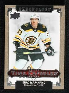 2019-20 Upper Deck Chronology Time Capsules Brad Marchand #TC-55