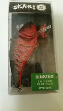 """MATZUO  IKARI Shad (anger) - 1/2 oz. - 3"""" - Red Craw. New in package."""