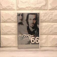 BUFFALO'66 Vincent Gallo VHS Japan Christina Ricci Subtitle Japanese