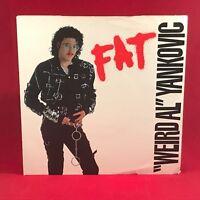 "WEIRD AL YANKOVIC Fat 1988 UK 7"" Vinyl single EXCELLENT CONDITION 45"