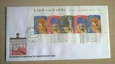 FDC Kinderpostzegelaktie Amsterdam 1990 A
