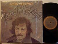 LOUIS VAN DYKE TRIO 'Round Midnight RARE EXC 1977 COLUMBIA LP shrink DUTCH JAZZ