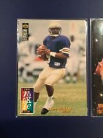 1995 Upper Deck CC # 3 1995 Action Packed # 83 STEVE MCNAIR Rookie Lot LOOK!