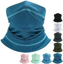 Summer Cooling Neck Gaiter Breathable Face Cover Bandana Headband for Men Women