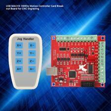 Cnc Mach3 Stepper Motion Controller Card Board Usb 4 100khz Bt