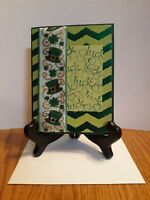 Happy St. Patrick's Day Handmade Stampin' Up! Greeting Card