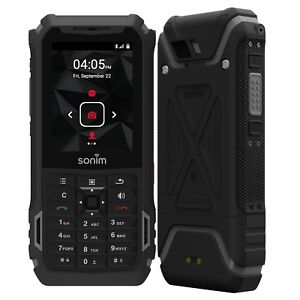 "BNIB 2.64"" Sonim XP5s XP5800 Dual-SIM 16GB Black Rugged Factory Unlocked 4G GSM"