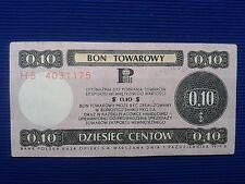 27. Poland - Bon towarowy Pekao 0,10$ - 1979