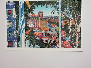 HIRO YAMAGATA - VIEW FROM THE TOP -  RARE POSTER  SOLD OUT  1993