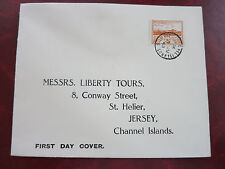 Deutsche Besetzung Kanalinsel JERSEY, Erstagsbrief 1943 mit MiNr.6
