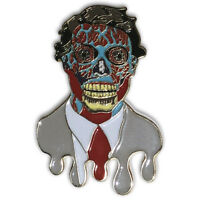 They Live CONSUME Monster Movie Enamel Lapel Pin Hat Pin Collectible Hatpin LTD