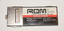 Casio ROM Pack RO-551 World Songs