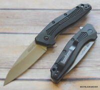 """KERSHAW """"DIVIDEND"""" SPEED SAFE SPRING ASSISTED KNIFE """"MADE IN USA"""" RAZOR SHARP"""