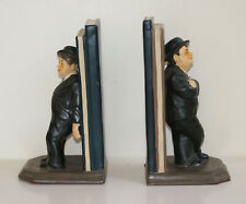 Pair of Laurel & Hardy bookends