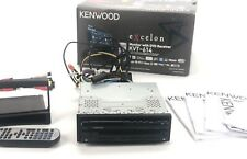 Kenwood Excelon KVT-614 Single DIN In-Dash Flip-out DVD Car Stereo With Box