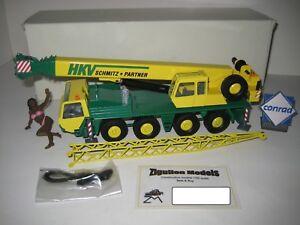 Faun RTF 60-4 Autokran Hkv Schmitz #2084 Conrad 1:50 Emballage D'Origine