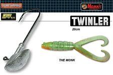 Manns Twister Caoutchouc Leurre-twinler 20 cm HOT SHAD