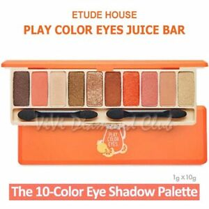 Etude House Play Color Eyes JUICE BAR Eyeshadow Palette  **US SELLER FAST SHIP**