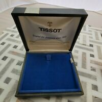 FI7: RARE TISSOT VINTAGE POCKET WATCH BOX FOR STEEL 14K 18K GOLD STYLIST